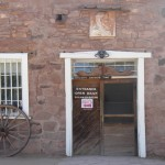 Entrance to Hubbell Trading Post
