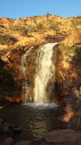 Ken's Lake Waterfall